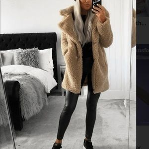 Olivaceous Cozy Jacket